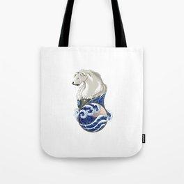 Naga with Water Symbol Tote Bag