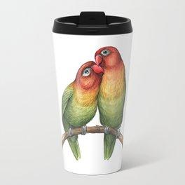 Fischer's Lovebird (Agapornis fischeri) Travel Mug