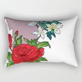 Tamil Nadu, Roja and Malli poo Rectangular Pillow