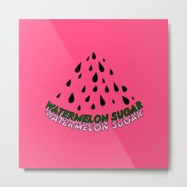 Watermelon Sugar Metal Print