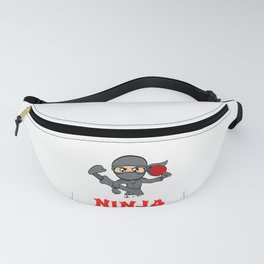 Big fan of table tennis? Here's a shirt with a twist. Ninja Playing Table Tennis Pingpong Racket Fanny Pack