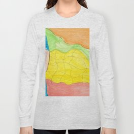 Effortless Watercolor Long Sleeve T-shirt