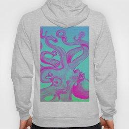 Pink Octopus Hoody