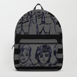 Drawing My Black Parade Backpack