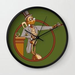 The Windup Duelist Wall Clock