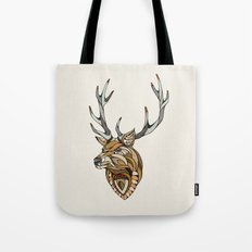 Deer // Animal Poker Tote Bag