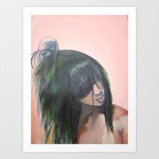 Hair Identity Art Print