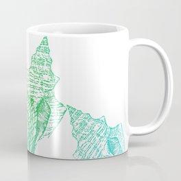 Shells Coloured Coffee Mug