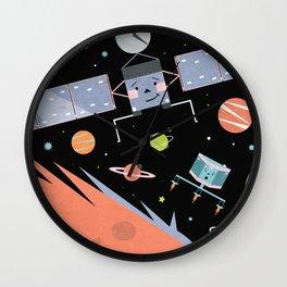 Comet Landers Wall Clock