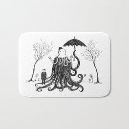 Young Master Lovecraft Finds A Friend Bath Mat