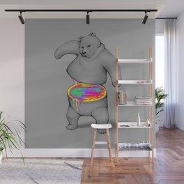 Rainbow Bear Wall Mural