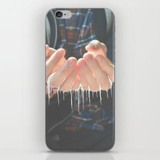 She Spoke Words That Would Melt In Your Hands   iPhone & iPod Skin