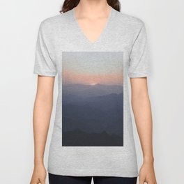 The Great Wall of China III Unisex V-Neck