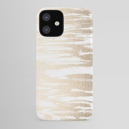 White Gold Sands Paintbrush iPhone Case