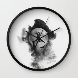 Dancing over our hands. Wall Clock