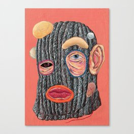 Club Kid 80's Canvas Print