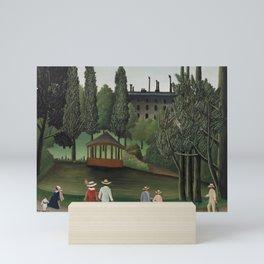 View of Montsouris Park, the Kiosk (Vue du Parc Montsouris, Le Kiosque) (ca. 1908–1910) ) by Henri R Mini Art Print