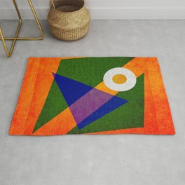 Abstract pattern Contemporary Rug