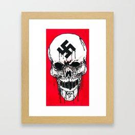 The Black Skull Framed Art Print