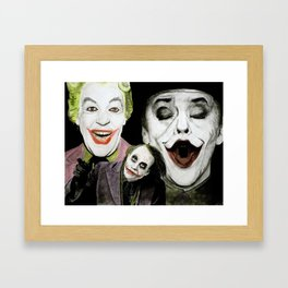 Look at These Jokers Framed Art Print