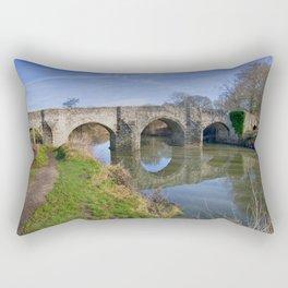 Teston Bridge Rectangular Pillow