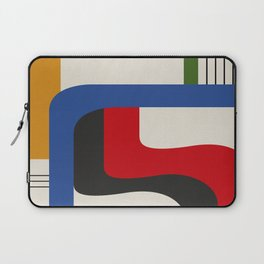 TAKE ME OUT (abstract geometric) Laptop Sleeve