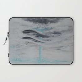 """""""Wind And Water"""" Painting1of 2 - Elements Series Laptop Sleeve"""