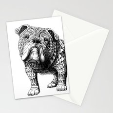English Bulldog Stationery Cards