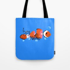 frying nemo Tote Bag