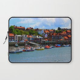 Whitby by the Sea Laptop Sleeve