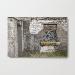 Moine House Metal Print