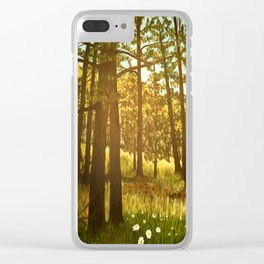 Autumn Greer Clear iPhone Case