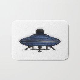 Retro UFO Bath Mat