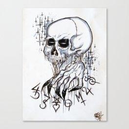 Evil Voices Canvas Print