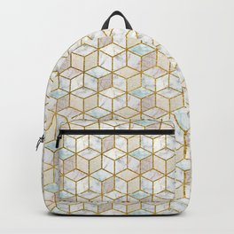 Marble Cubes Backpack