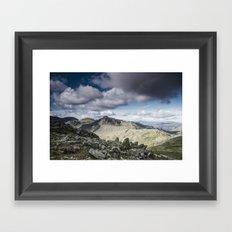 Bowfell Framed Art Print