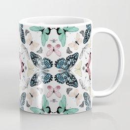 Butterfly Array (Bright) Coffee Mug