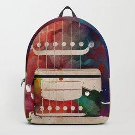 Guitar art 16 #guitar #music Backpack