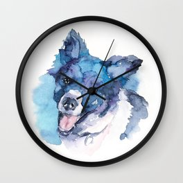 DOG#15 Wall Clock