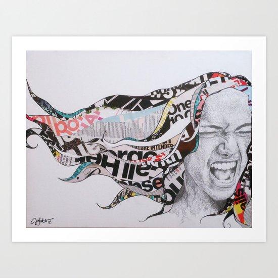 Fill the Void Art Print