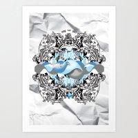Sea World  Art Print