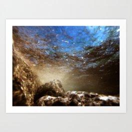 Aqua 15 Art Print