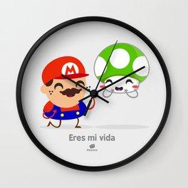 Tu eres mi vida Wall Clock