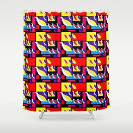 Partridge Parade Shower Curtain