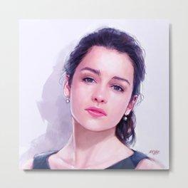 Emilia Clarke Metal Print