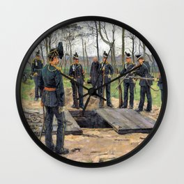 Military Funeral - Digital Remastered Edition Wall Clock