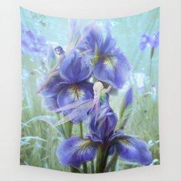 Imagine - Fantasy iris fairies Wall Tapestry