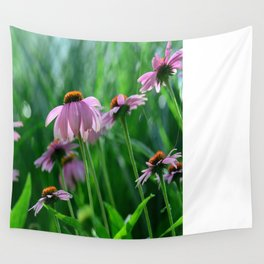 Field of Flowers Wall Tapestry