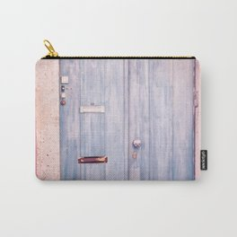 Pink Wall in Lisbon Carry-All Pouch