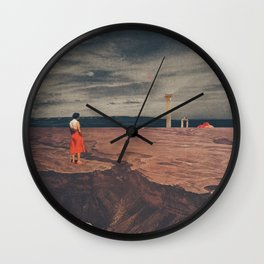 Across The History Wall Clock